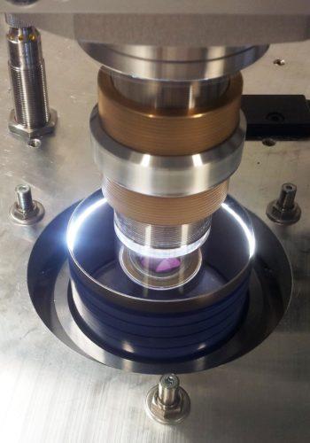 Rotationssymetrisches Bauteil Laserreinigung