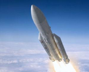Ariane 5 im Flug