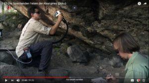 Sprechende Felsen der Aborigines Film-Doku