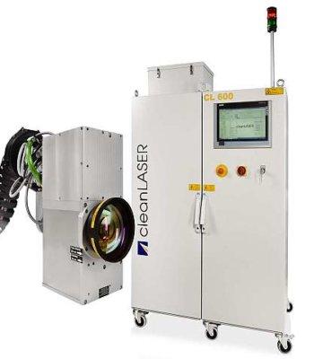 Lasersystem CL 600 zur Roboteranbindung mit Detail