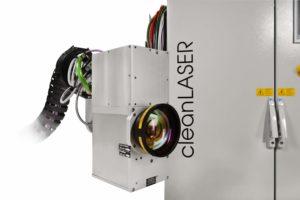 Lasersystem CL 600 zur Roboteranbindung im Detail
