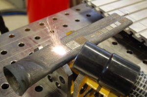 Erzeugung DataMatrix-Code mit Lasergeraet