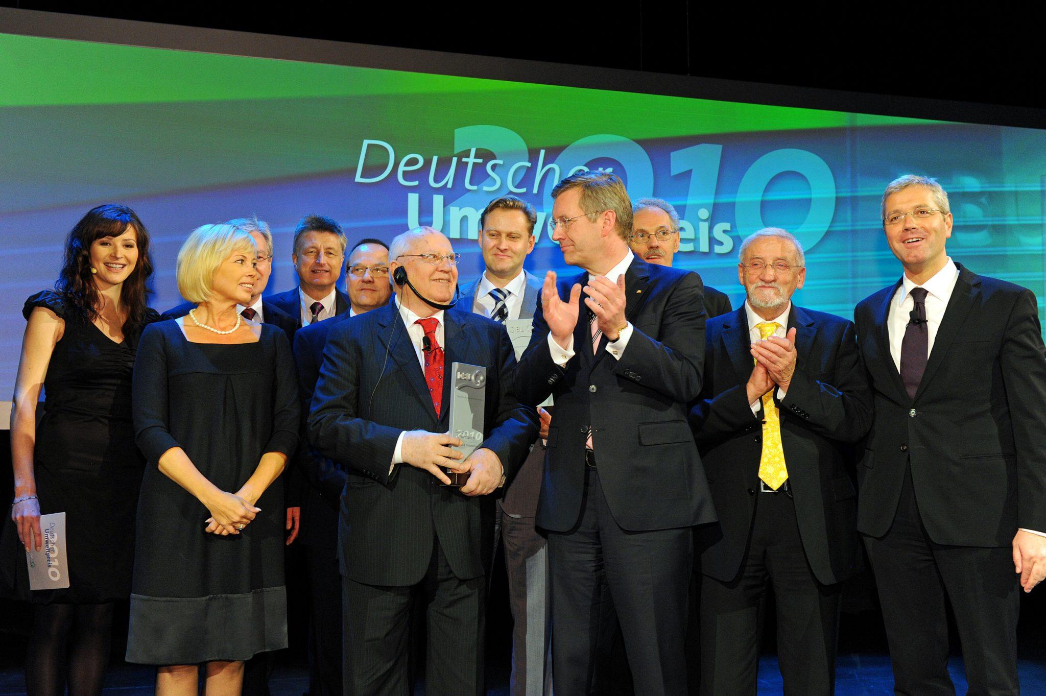 Buehne Preistraeger DBU 2010