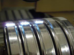 Klebevorbehandlung Aluminium mit Laserstrahl