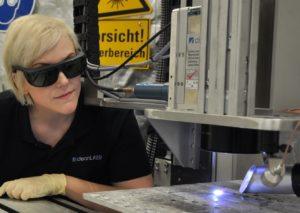 LaserPROMISE Projekt Laborszene