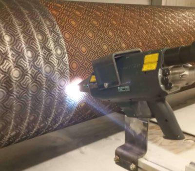 Laserstrahlreinigung Rasterwalzen