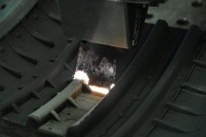 Reifenform Laserreinigung im Detail
