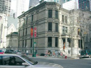 gereinigte Fassade Gebaeude in Chicago