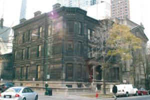 Chicago Gebaeude vor der Fassadenreinigung