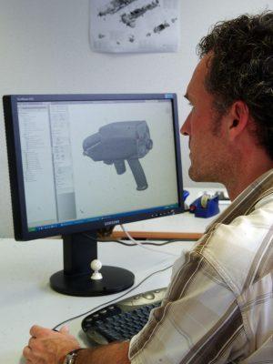 Laseroptik Konstruktion