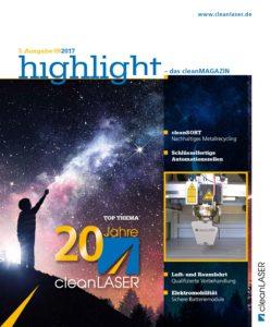cleanMAGAZIN 2017 Titel