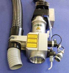 Punktuelle Laserreinigung cleanPOINT Optik