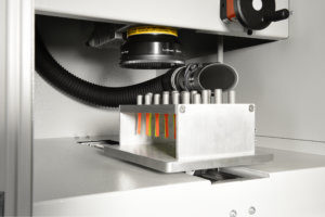 compactCELL is an automated laser system in a small space