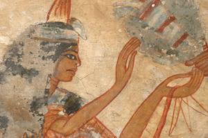 gereinigte Aegyptische Grabkammer