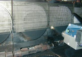 Inline Ofenreinigung mit Laserstrahl