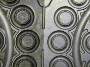 O-Ring-Form ungereinigt und gereinigt