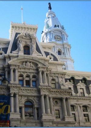 Philadelphia Rathaus lasergereinigt