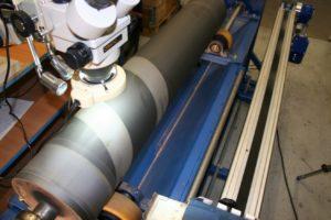 Druckwalze zur Laserreinigung