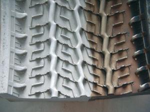 halbseitig gereinigte Reifenform Aluminiumsegment