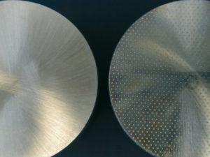 Zylinder im Detail strukturiert und unstrukturiert