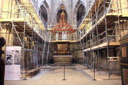 Restaurieren mit Laser in Kirchen